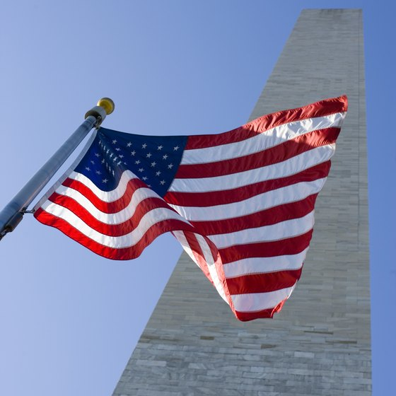 The Washington Monument is just one of the many sights to see in Washington, D.C.