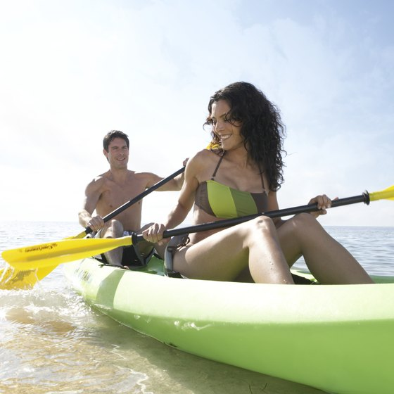 Kayaking is one of the many things to do while camping at Bahia Honda State Park.