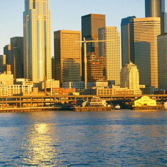 See Seattle from the water on a dining cruise.