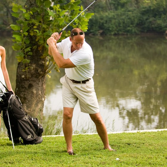 Bring the golf clubs with you on an RV tour of Florida.