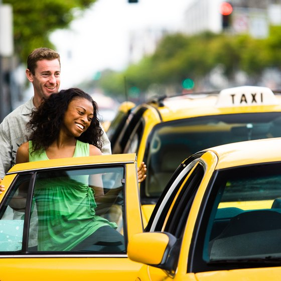 Taking a taxi can be intimidating if you've never done it before.