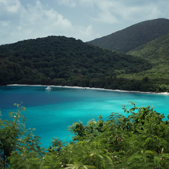 The island of St. John offers picturesque views of the Caribbean.