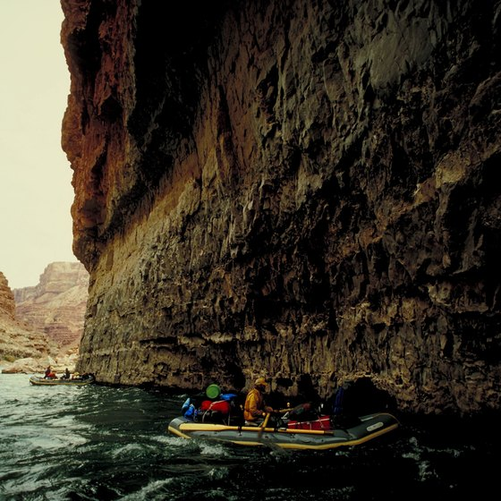 Grand Canyon river rafting vacations are appropriate for many experience levels.