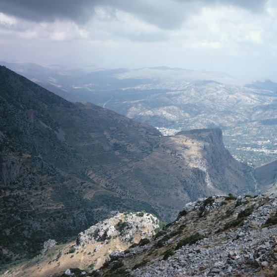 The southernmost Greek island of Crete is popular with hikers.
