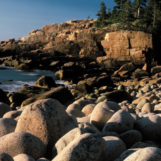 Explore the coast of Maine at Acadia National Park.
