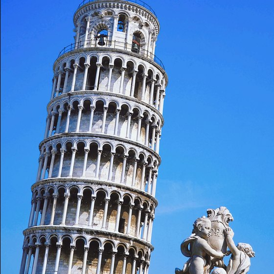 Pisa is a popular tourist destination.