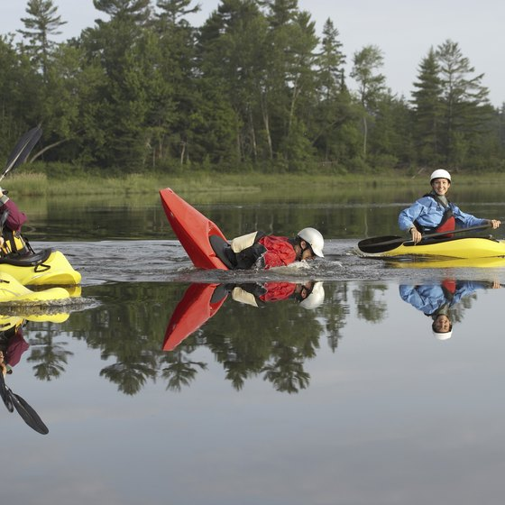 Quebec has more than 68,312 square miles of waterways, much of it suitable for kayaking.