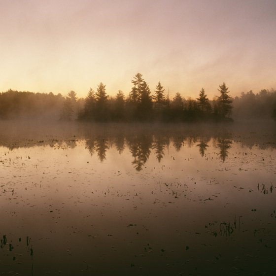 Ontario's thousands of lakes are a major attraction for visitors.