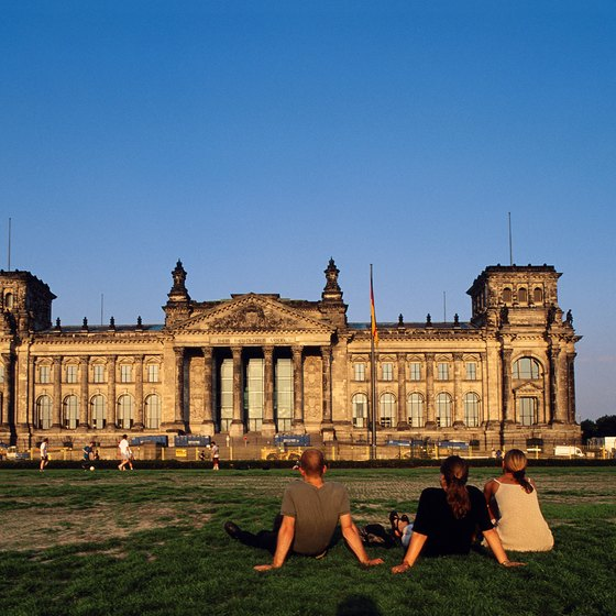 You don't have to pay the admittance fee to enjoy German architecture.