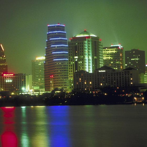 Austin, Texas, occupies the banks of the Colorado River