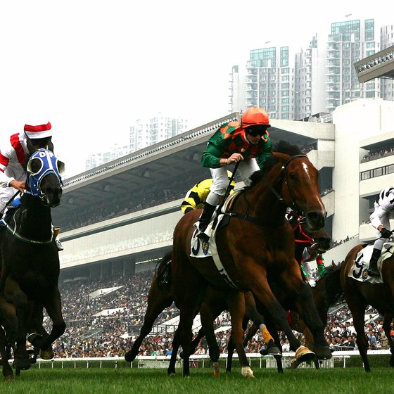 The Hong Kong Jockey Club manages horse racing and horse riding facilities.