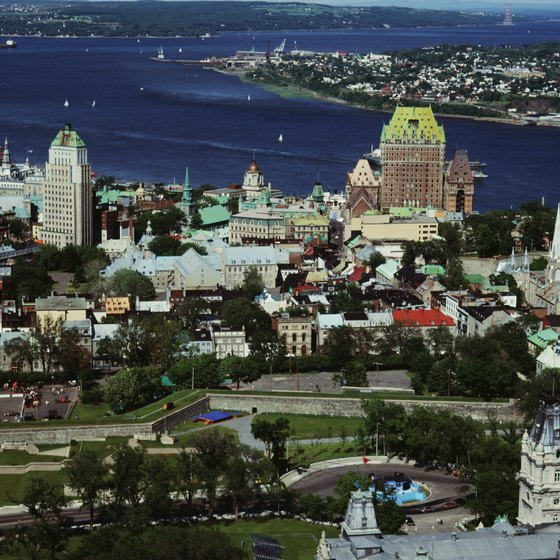 Old Quebec City hosts a wide selection of hotels within its walls.