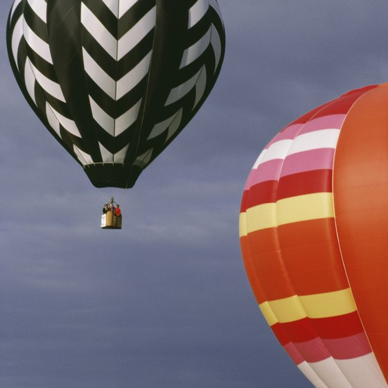 A hot air balloon ride is a relaxing way to enjoy South Carolina's scenery.