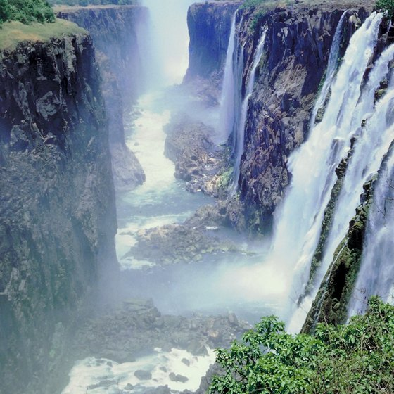 Victoria Falls is a UNESCO World Heritage Site.