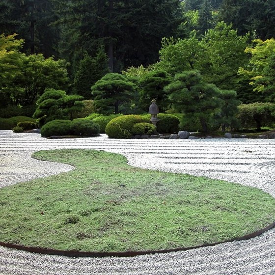 The Portland Japanese Garden changes with the seasons.