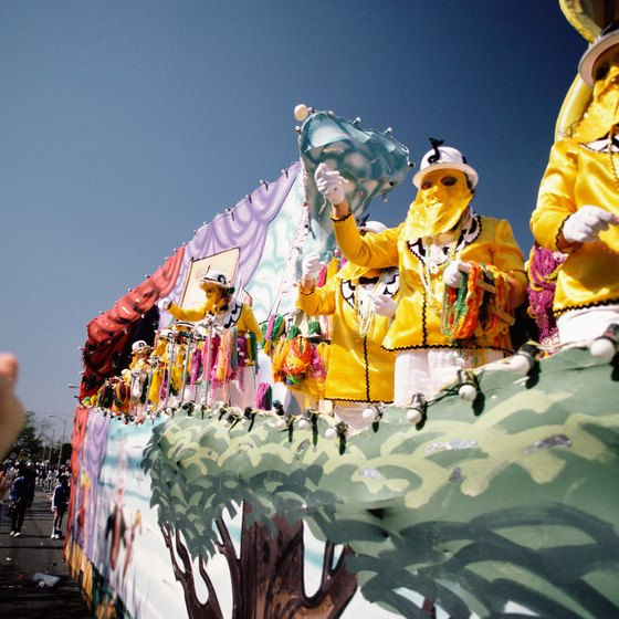 Fabulous floats and costumes are part of carnivals all over the world.