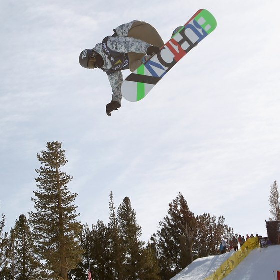 The halfpipe at Mammoth receives rave reviews.