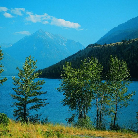 Wallowa Lake is a popular fishing and boating destination in Northeast Oregon.
