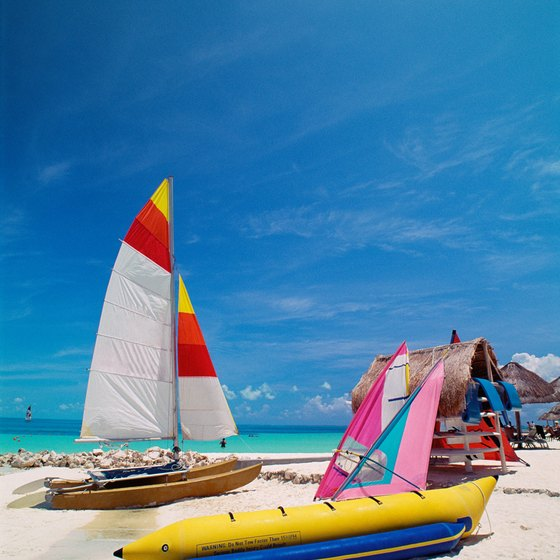 Cancun offers beautiful beaches and water activities.