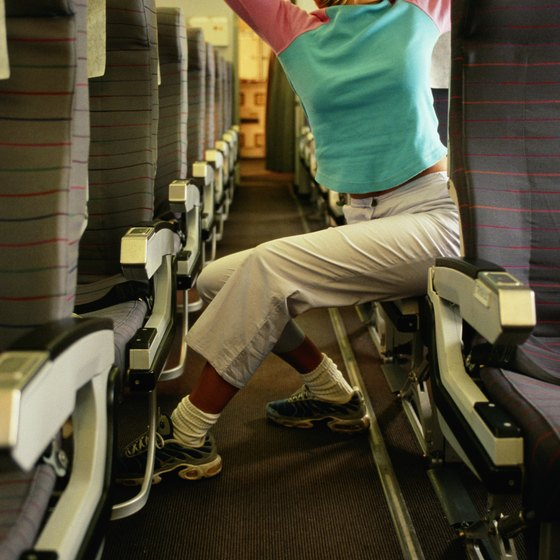 The entire body can become cramped and fatigued during a long flight.