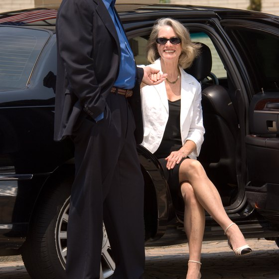 A chauffeur-driven limousine tour is a comfortable and convenient way of seeing the sights of New York City.