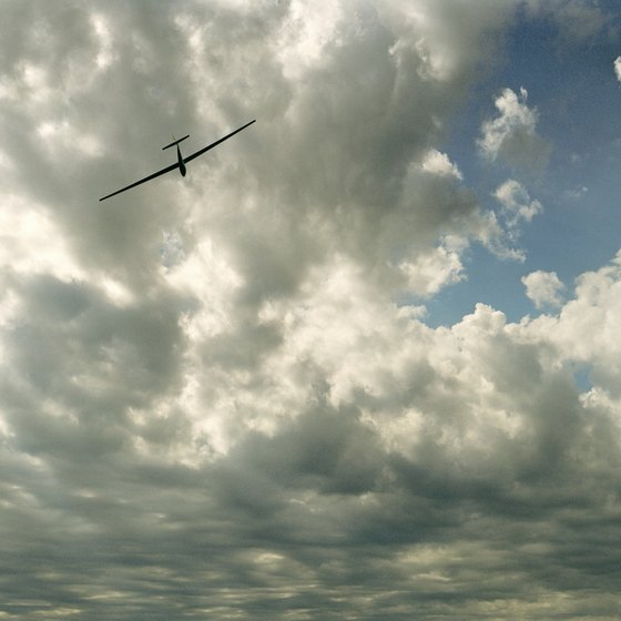 Go soaring high above Marfa with a ride in a glider.
