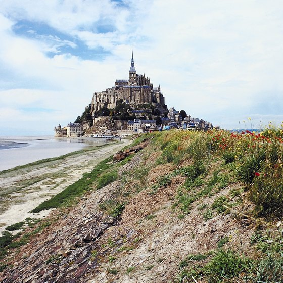 Mont St. Michel is one of France's most haunted structures.