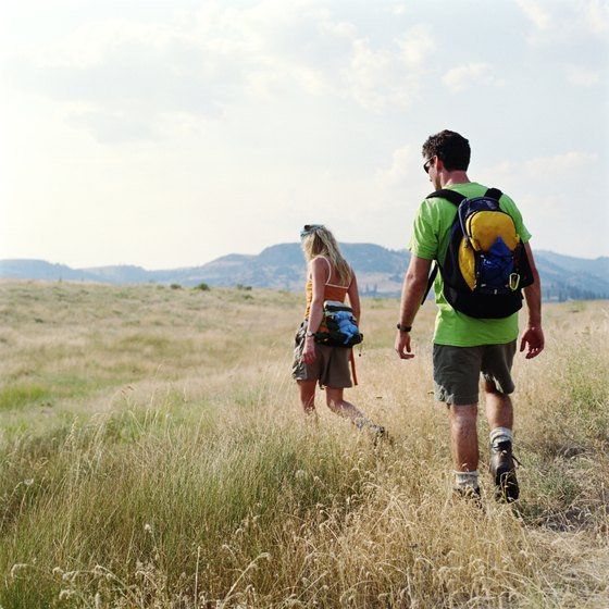 Hiking is just one of the many weekend activities open to visitors.