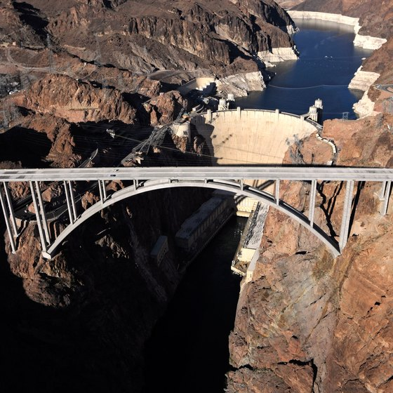 Canoeing below Hoover Dam requires extra planning and permits.