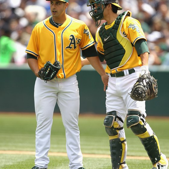 O.co Coliseum hosts home games for Major League Baseball's Oakland Athletics.
