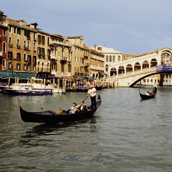 Visitors to Venice are bound to spend much of their time outdoors.
