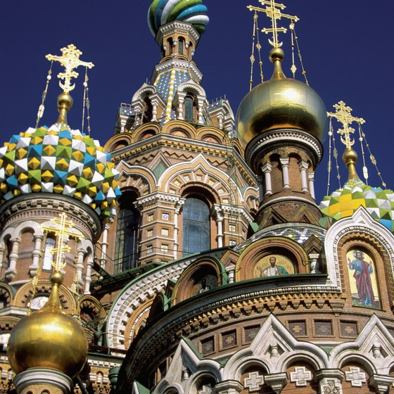 Travelers from Sweden to St. Petersburg can fly or take a ferry to the Russian city.