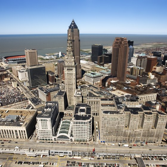 Cleveland, Ohio, is home to the Rock and Roll Hall of Fame.