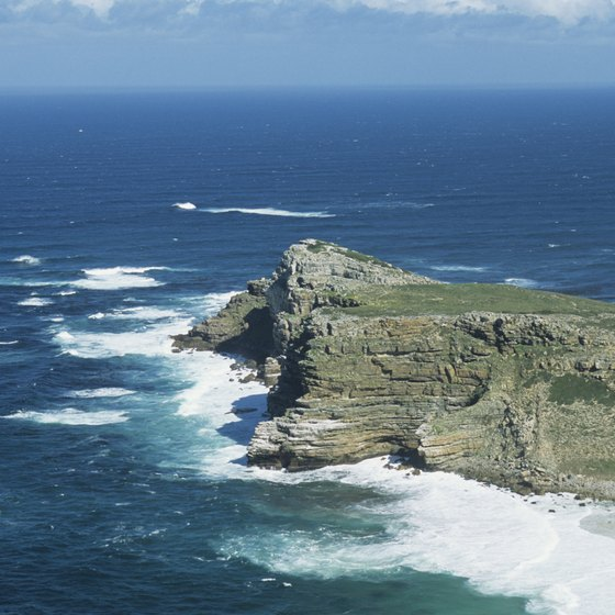 Rounding the Cape of Good Hope is a psychologically significant point for many round-the-world sailors.