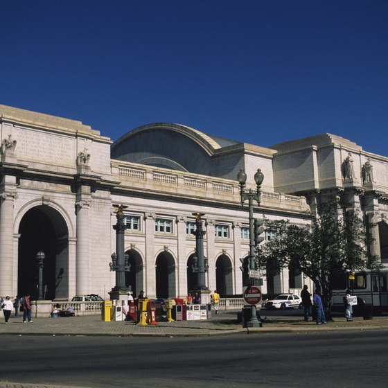 Union Station is just northwest of the U.S. Capitol.