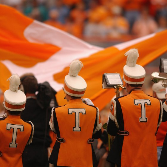 Knoxville is home to the University of Tennessee.