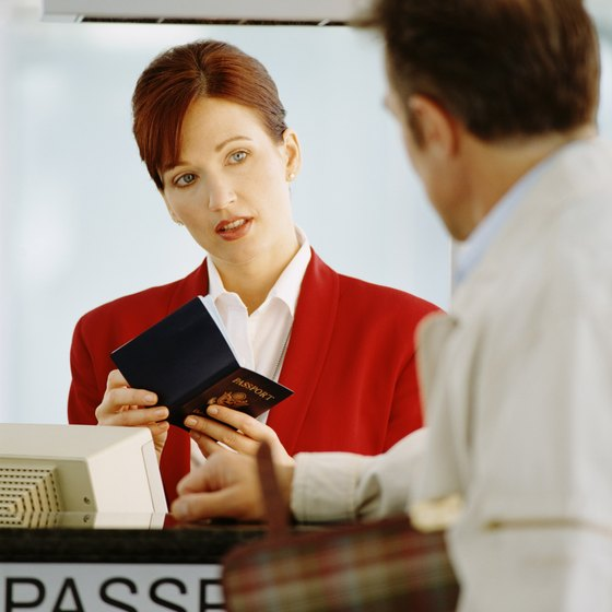 Immigration officials typically inquire about your visit while checking your travel documents.