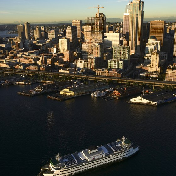 A ferry ride shows you a different view of Seattle.