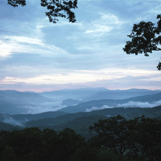 The Smoky Mountains are a scenic, peaceful, romantic destination.