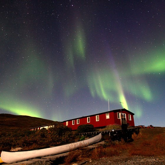 View the northern lights on a trip to Greenland.
