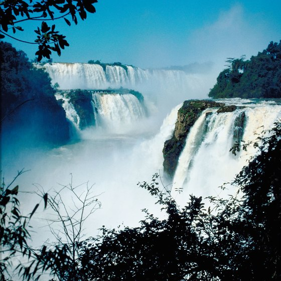Thunderous Iguassu Falls is a popular destination for many tours of Latin America.
