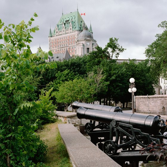 Quebec City has many historic attractions.