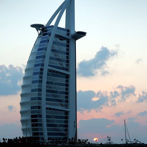 At time of publication, Burj Al Arab is the world's tallest structure with a membrane facade.