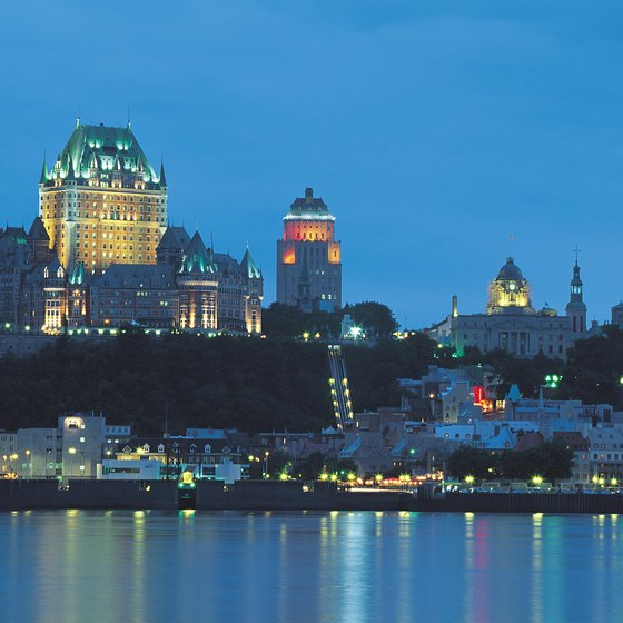 Quebec City's Chateau Frontenac is one of its most recognizable landmarks.