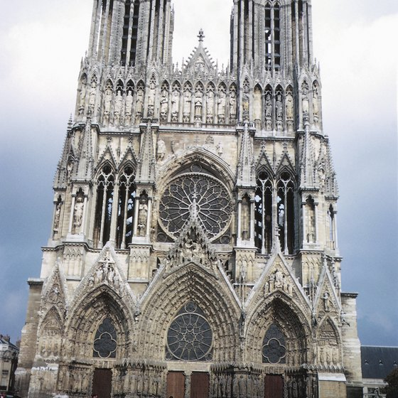 Reims has one of two UNESCO-inscribed cathedrals in the Champagne region.