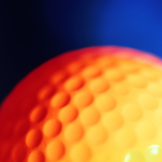 Enjoy 18 holes even on a rainy day with indoor miniature golf.