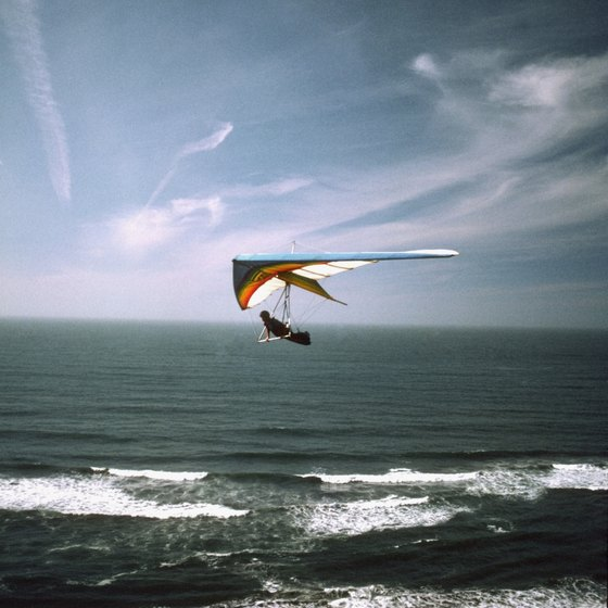 Hang glide at Fort Funston.