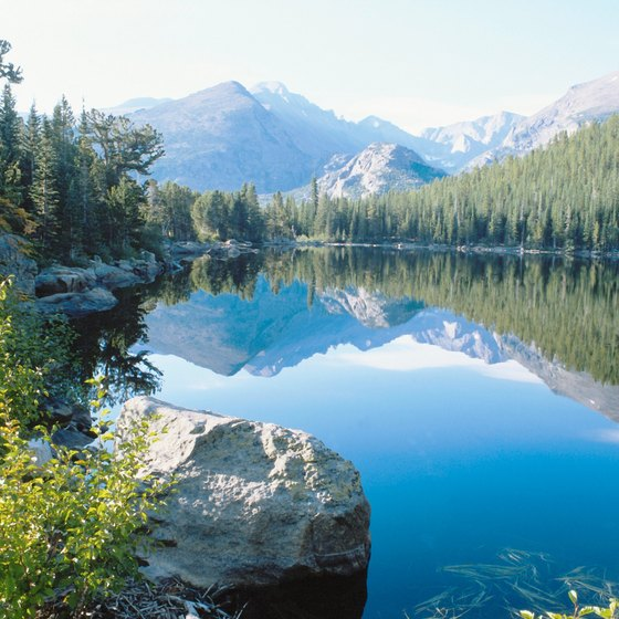 Southwestern Colorado features rugged camping and recreation.