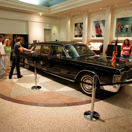 Take a spin back in history near Downey, California, by seeing a limo used by three presidents.