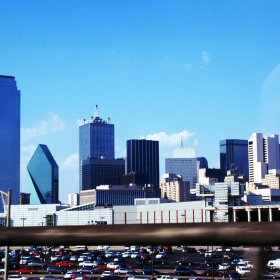 Dallas has a skyline that epitomizes cool.